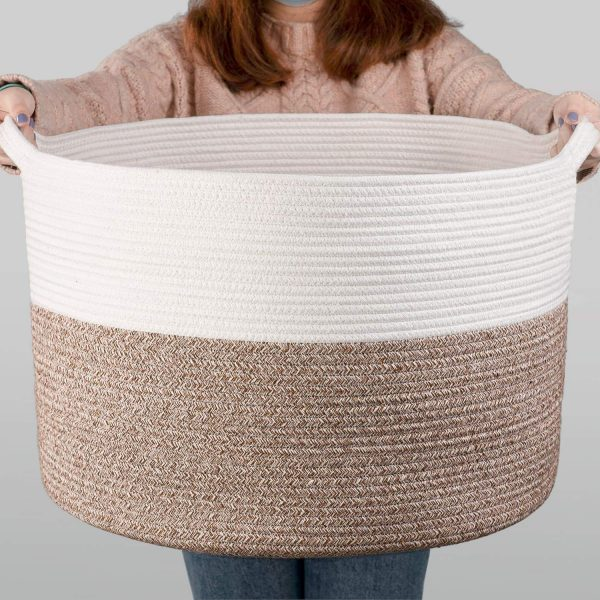 country basket xxx large cotton rope